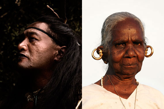 Maori Guide & Indian Lady