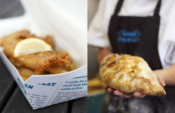 Fish and Chips & Cornish Pasty