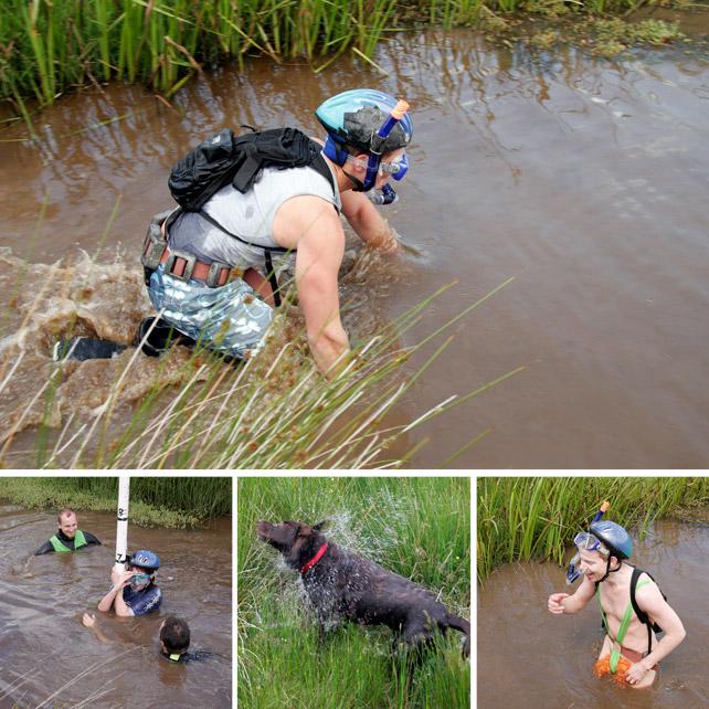 Emma Wood Photographer World Mountain Bike Bog Snorkelling